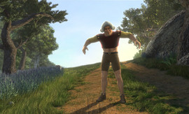 Shrek 2 Matte Painting 10