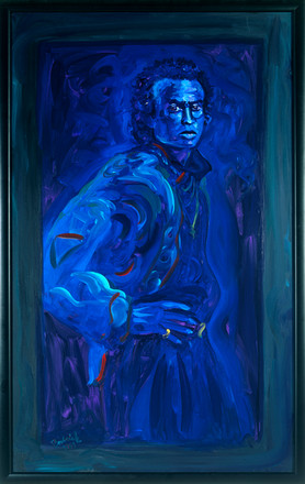 Miles in Blue