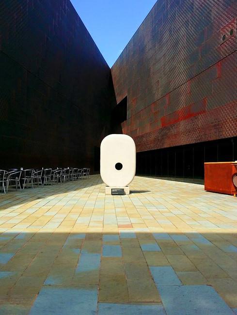 DeYoung Courtyard