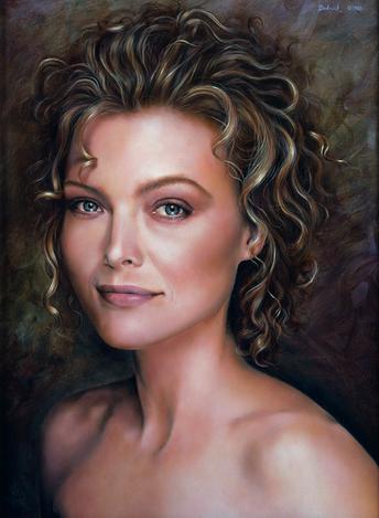 Portrait of Michelle Pfeiffer