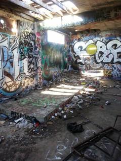 Bunker Grafitti
