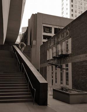 Behind SF MOMA