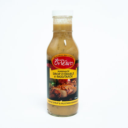 Marinade Sirop d'Érable et Moutarde (350ml)