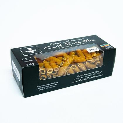 Pâtes Artisanales \ Rigatoni aux Curry (230g)
