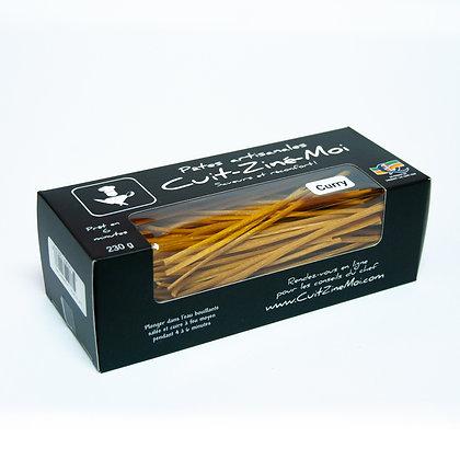 Pâtes Artisanales \ Linguini aux Curry (230g)