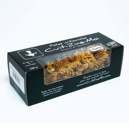 Pâtes Artisanales \ Rotini aux Curry (230g)