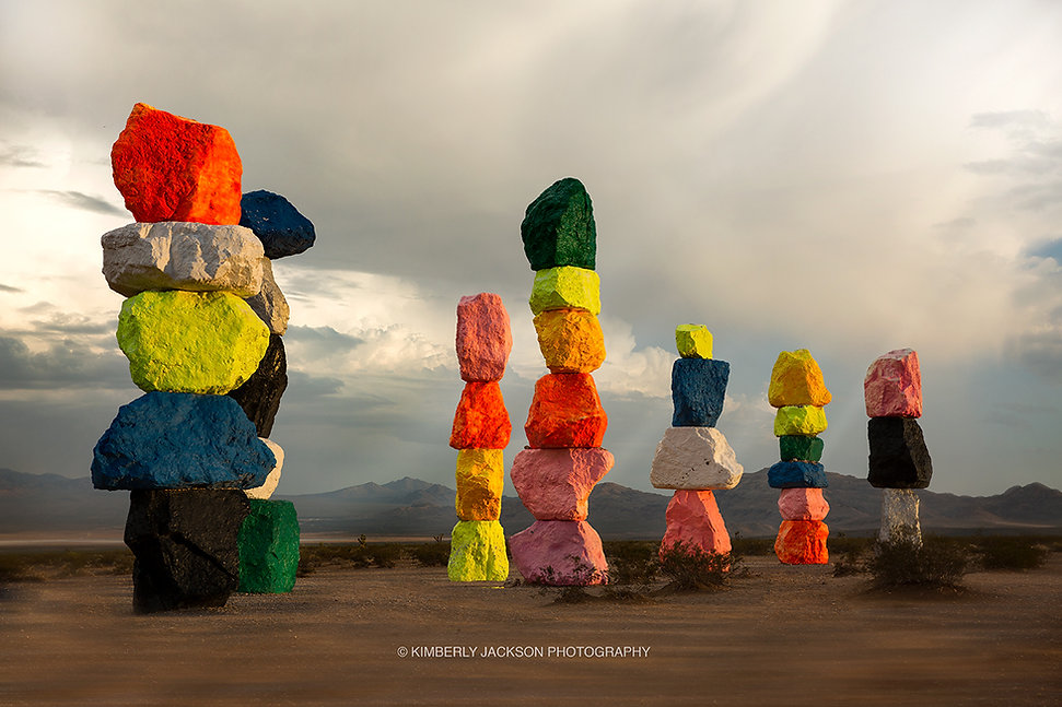 Color Rocks Landscape Photography