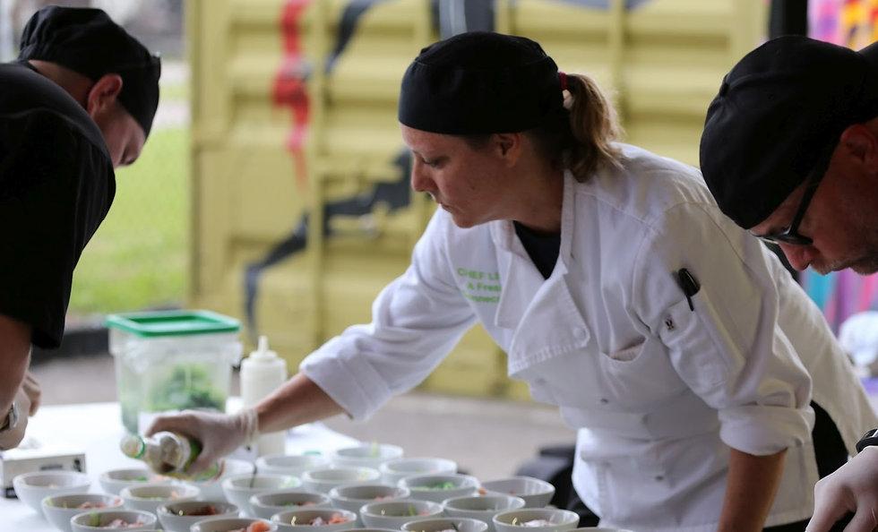 Chef Lisa Corporate Catering St. Petersburg