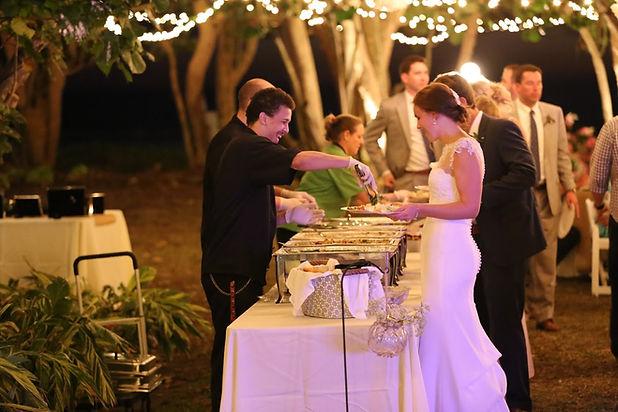 The Bride wedding catering St. Petersburg