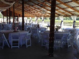 Wedding Reception at Wishing Well Barn