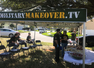 Great Day At Military Makeover