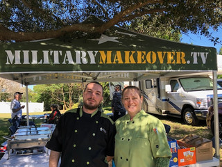 Chef Lisa at Military Makeover