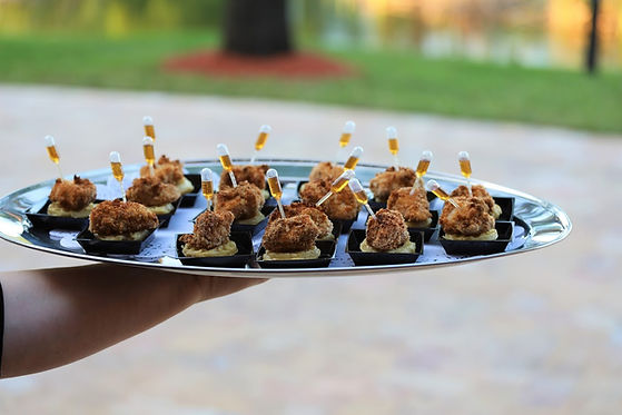 chicken and waffles wedding catering St. Petersburg
