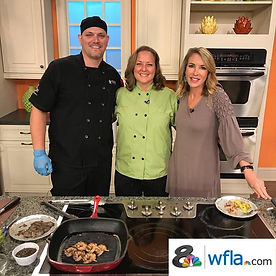 Chef Doug and Chef Lisa wedding catering and corporate catering company