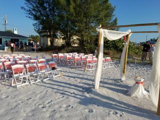 Wedding Celebration on the Beach!