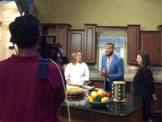 Chef Lisa on Great Day Tampa Bay