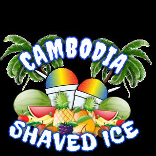 Cambodia Shaved Ice