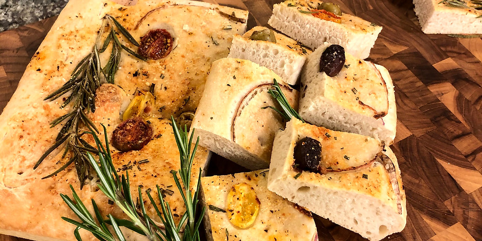 The Vegan Bread Making Culinary Adventure: 3.5 hours $70
