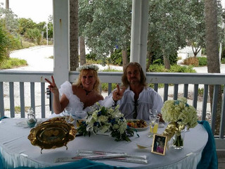 Pirate Wedding on the Beach