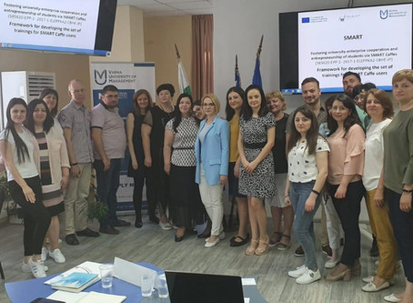 TRAINING ACTIVITY IN VARNA (BULGARIA) WITHIN SMART PROJECT