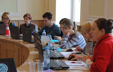 New training activities in Minsk by partner VIVES ZUID