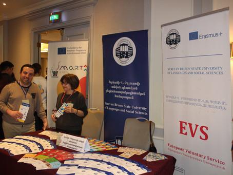 ERASMUS + SMART PROJECT PRESENTATION AT THE GLOBAL  ENTREPRENEURSHIP WEEK