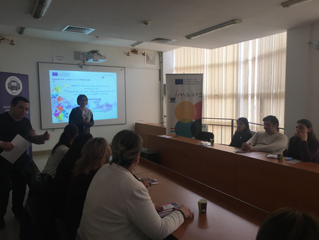 ERASMUS + SMART PROJECT MEETING WITH THE YSULS PROFFESORSHIP