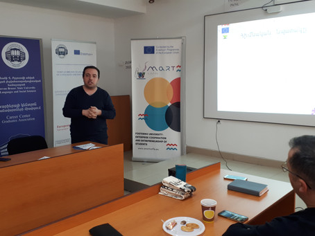 ERASMUS + SMART PROJECT INFORMATION DAY AT YSULS