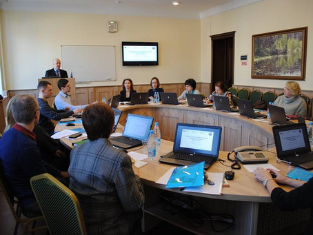 The first training course is held in Belarus.