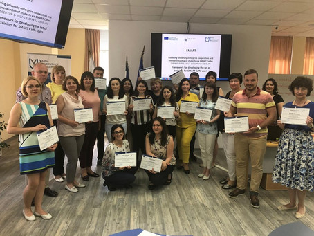 SMART Trainings at Varna University of Management