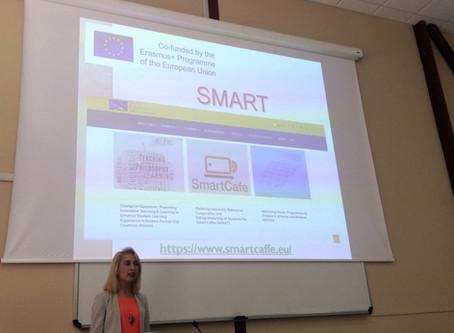 SMART Project has been Presented at University of Verona