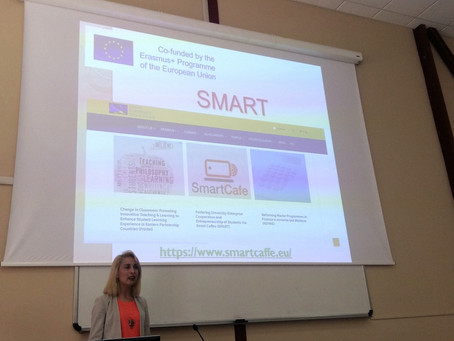 SMART Project has been Presented at University of Verona