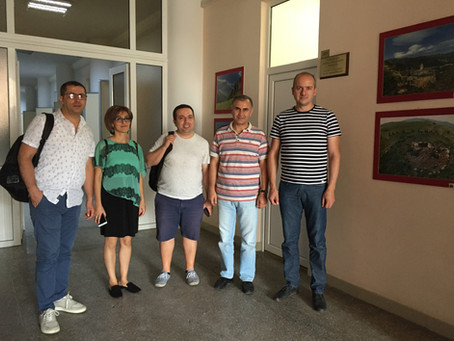 ERASMUS + SMART PROJECT ARMENIAN LOCAL COOORDINATORS' MEETING WITH ERASMUS + InnoCENS PROJECT LOCAL