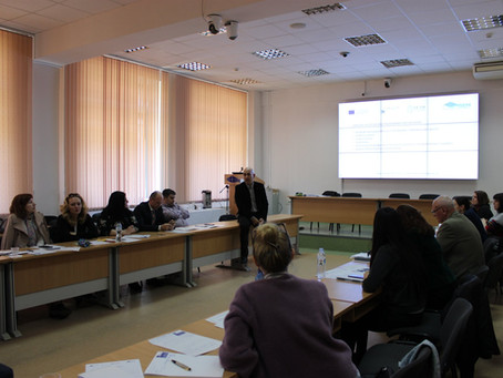 New training activities in Moldova