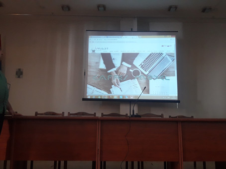ERASMUS + SMART PROJECT PRESENTATION AT THE YSULS CAREER CENTER INFORMATION DAY