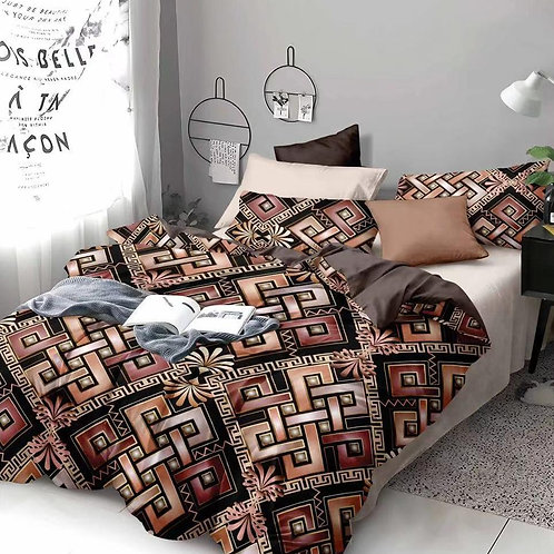 ALLURE KING (1+2) Double bed (King sized Bedsheet )