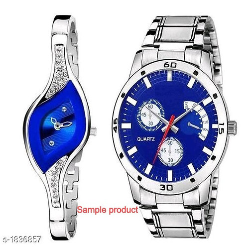 Women Multi Color Analog Watch Combo Pack of 2