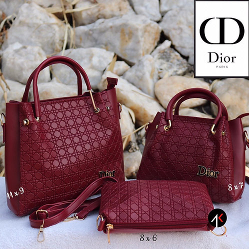 DIOR: Set of 3 Women's hand Bags