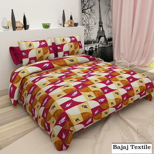 Orignal Bajaj Pure cotton bed-sheet