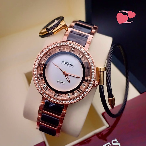 Women's Watch A custom American diamond