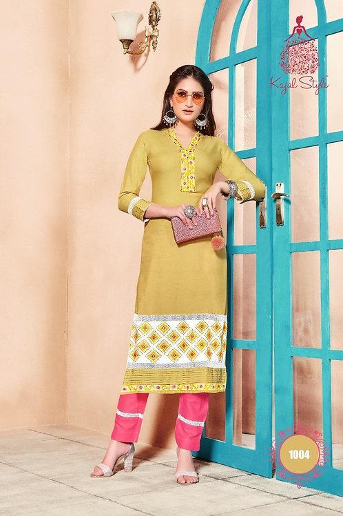 Kajal Style Kurti with Bottom