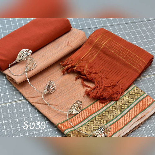 DV -South cotton Chudi material