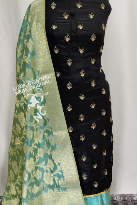 Exclusive Suit  For Women (100% Cotton satin silk  )