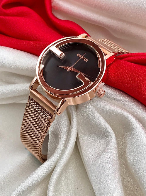 Ladies megnet belts watch