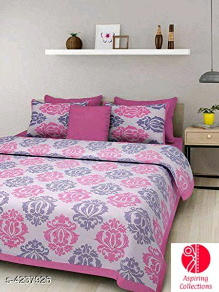 Cotton bed-sheet (Queen size)