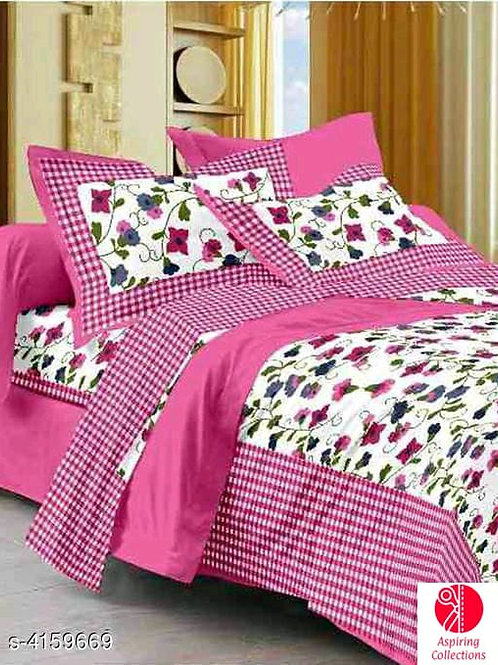 Cotton bedsheet (Queen size)