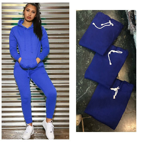 Hoodie Tracksuit With Pocket