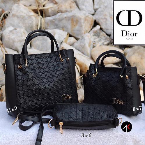 DIOR: Set of 3 Women's hand Bags