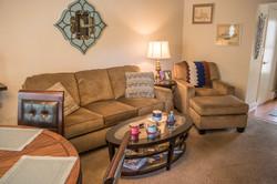 One Bedroom Livingroom