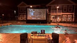 18' Cinema Pool Party